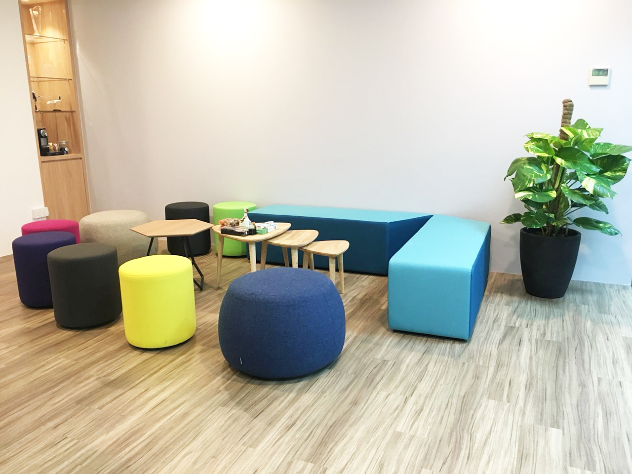 Aerospace Component Engineering Services Pte Ltd | Products seen: [Form Coffee Table, Point Bench, Tempo 3-in-1 Coffee Table, Chimo – Medium & Pouf Round]